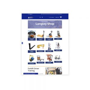 Langley Mechanical Services Materials Handling Webshop